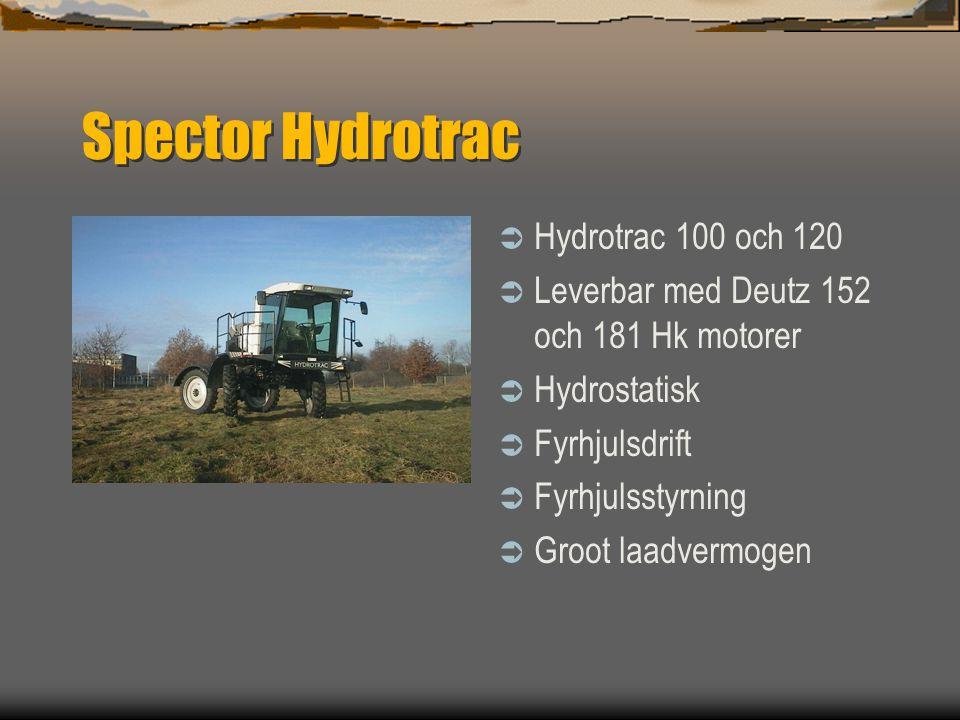 Spector  Dubex Stadskanaal NL  Tillverkat sprutor sedan 1953  fullständigt program från 600 upp till 6000 Liter och arbetsbredd upp till 45m  Bure