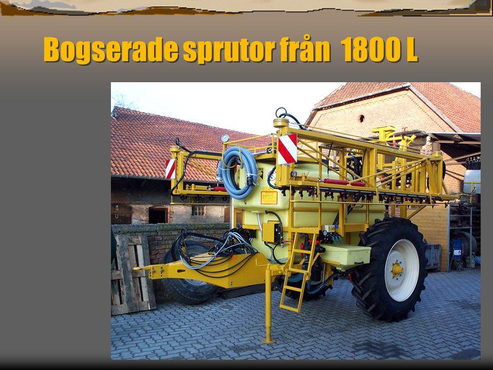 Teknisk information  Motorer 125 147 158 och 195 Hk  Fyrhjulstyrning med halvautomatisk mittpositionering av bakaxeln, framhjulsstyrning en hondegang.
