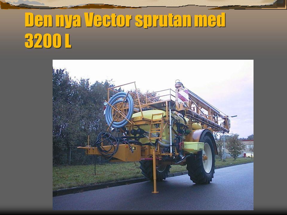 Den nya Vector sprutan med 3200 L