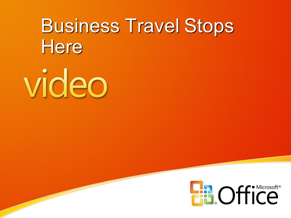 Business Travel Stops Here