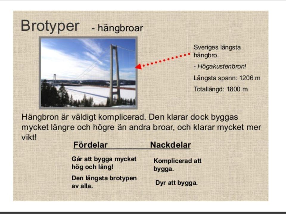 """Teknik Årskurs 8 Projekt """"Brobygge"""" Vecka - ppt video online"""