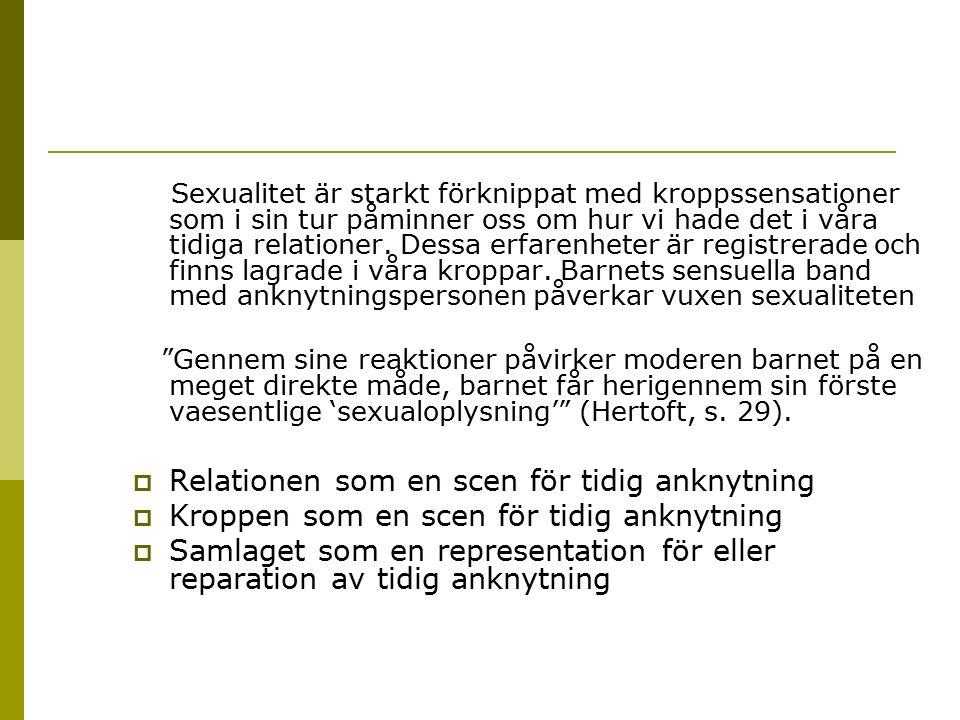 Undvikande anknytning sexualitet
