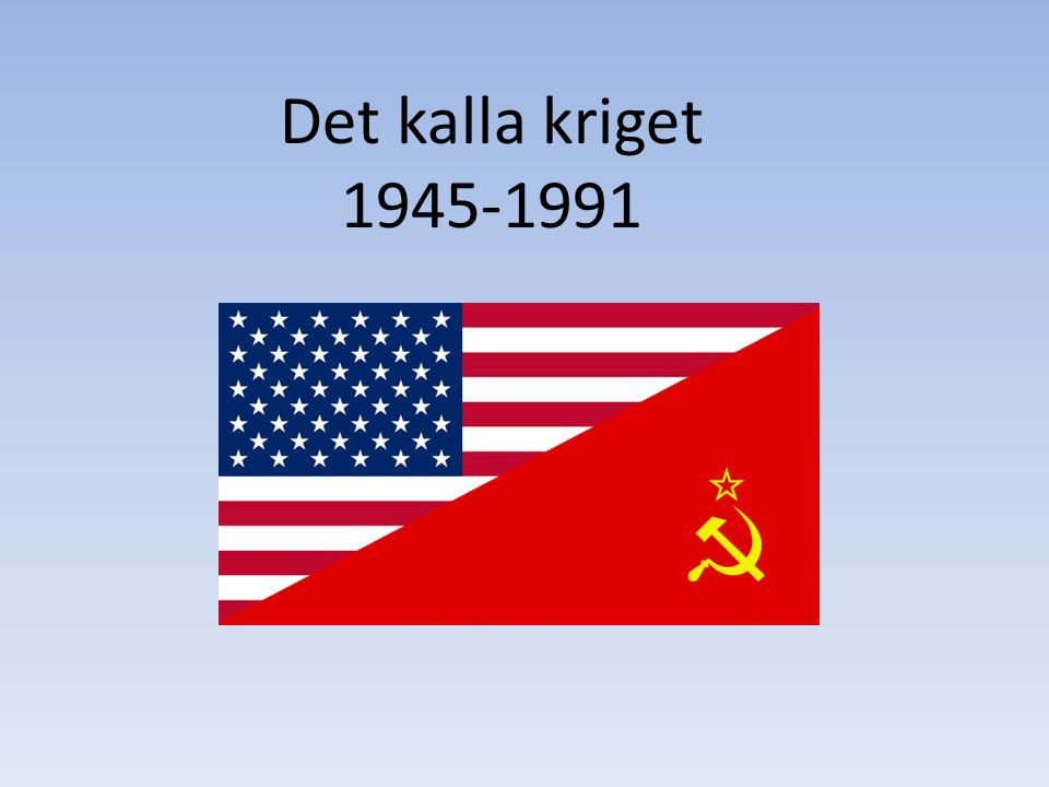 Image result for kalla kriget