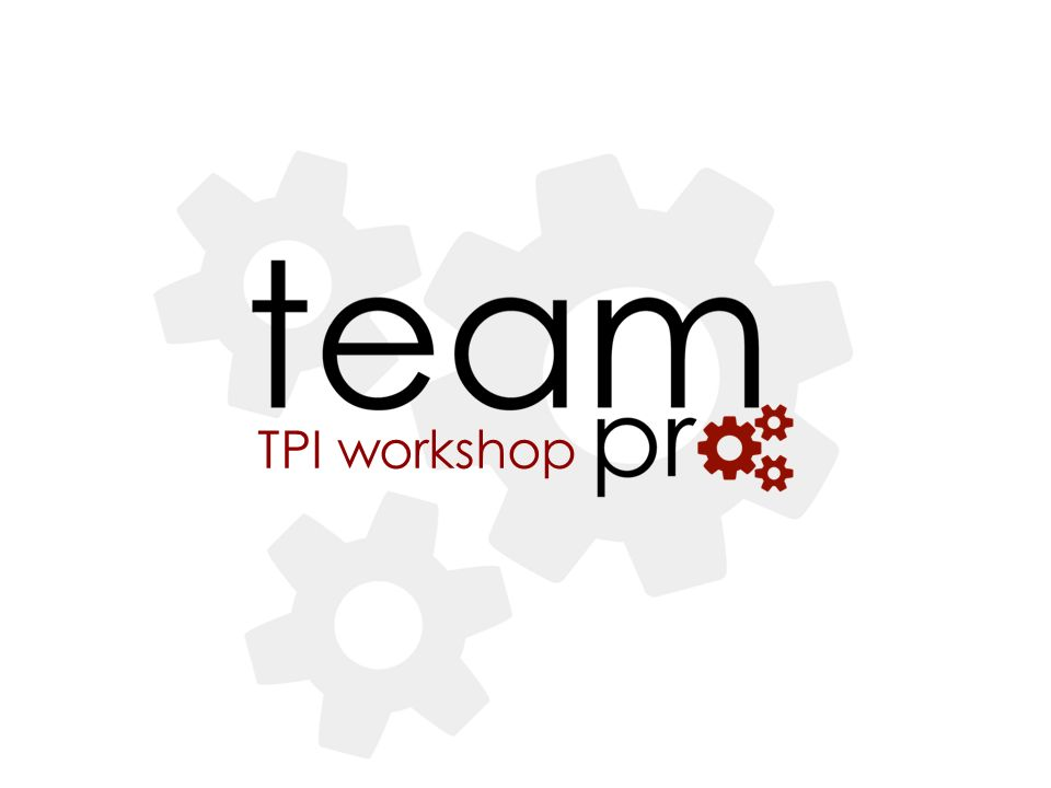 TPI workshop