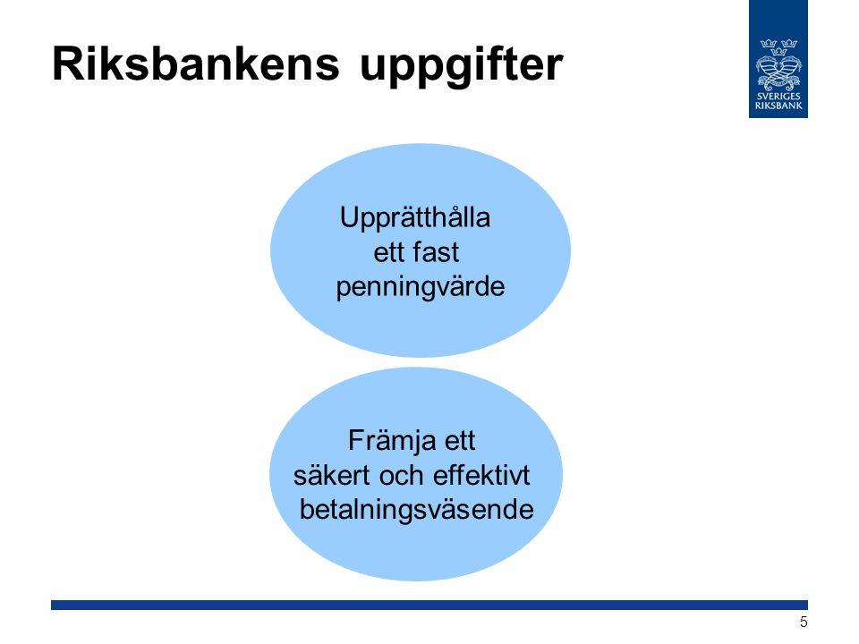 Riksbanken ger ut sjudagarscertifikat