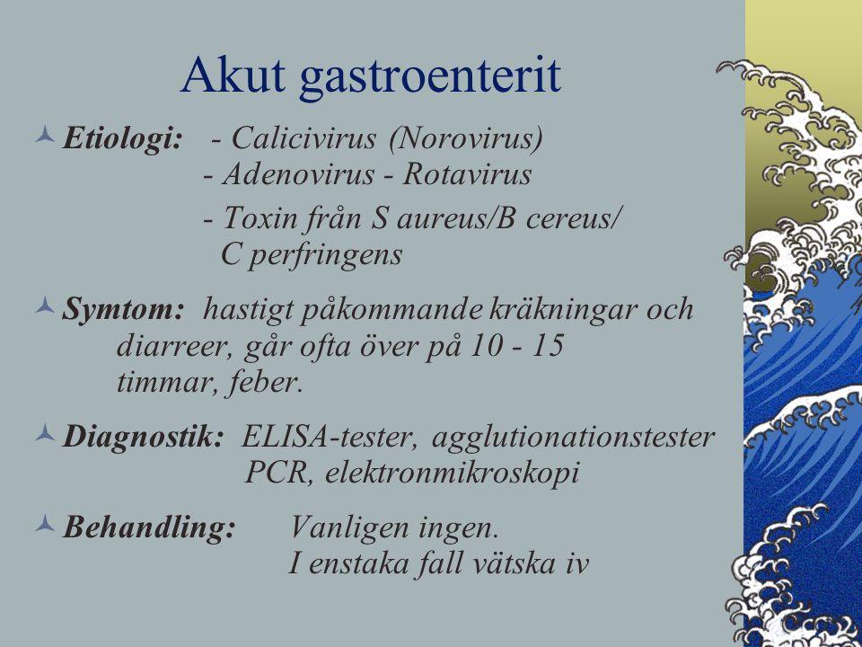 clostridium perfringens behandling