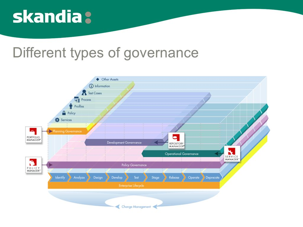 Different types of governance