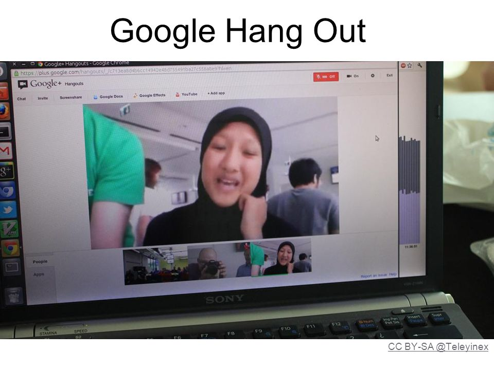 Google Hang Out CC