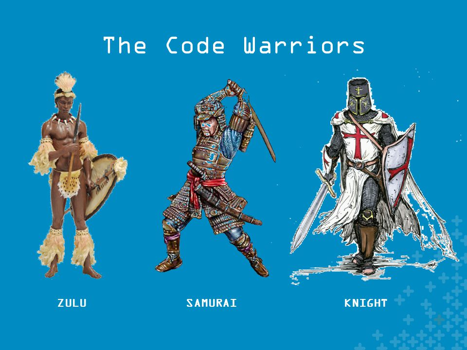 The Code Warriors ZULUSAMURAIKNIGHT