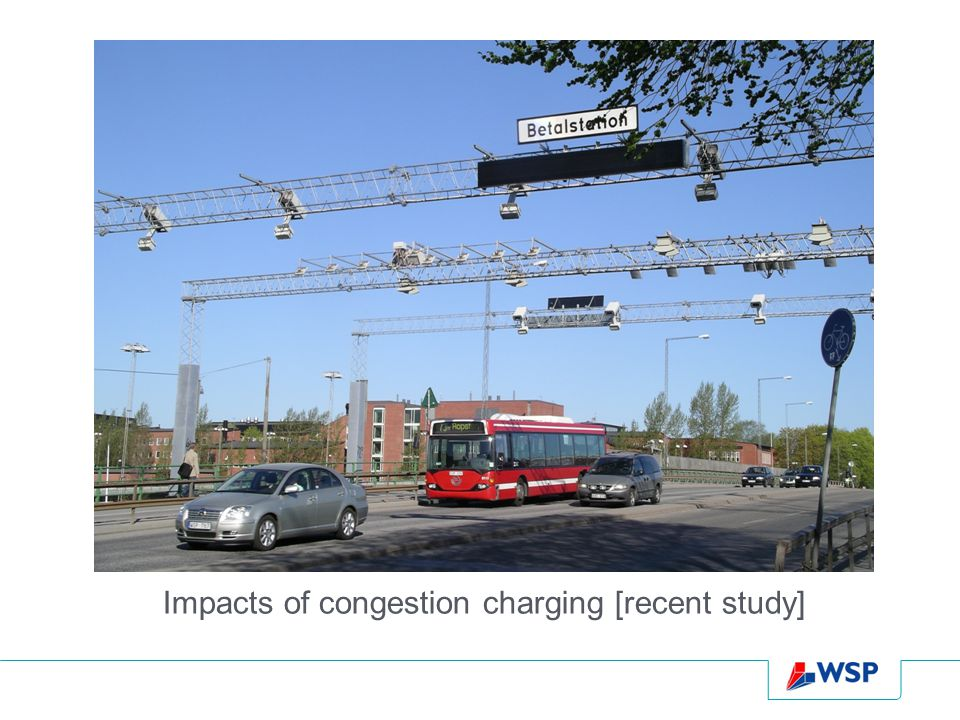 Impacts of congestion charging [recent study]